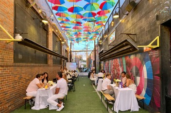 Outdoor Dining with EXDO Event Center