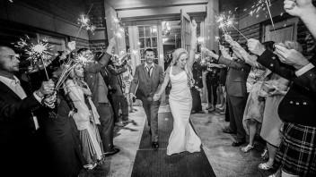 Wedding Sparklers - Event Ideas - John Tobey Events