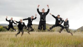 Wedding Planner: Groomsman Jump