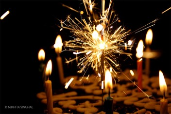 Candles and Sparklers - Bar Mitzvah Planner