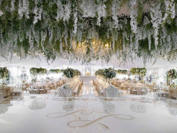 Luxurious Celebrations - Hanging Florals - Newberry Brothers