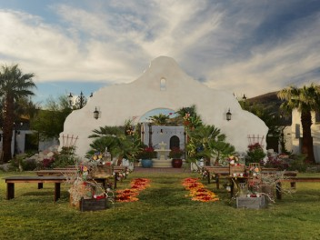 Oasis at Death Valley Wedding - Desert & Dreamy