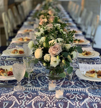 Luxurious Celebrations - Pool Party Florals - Newberry Brothers