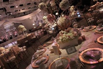 Seawell Ballroom Table Setting